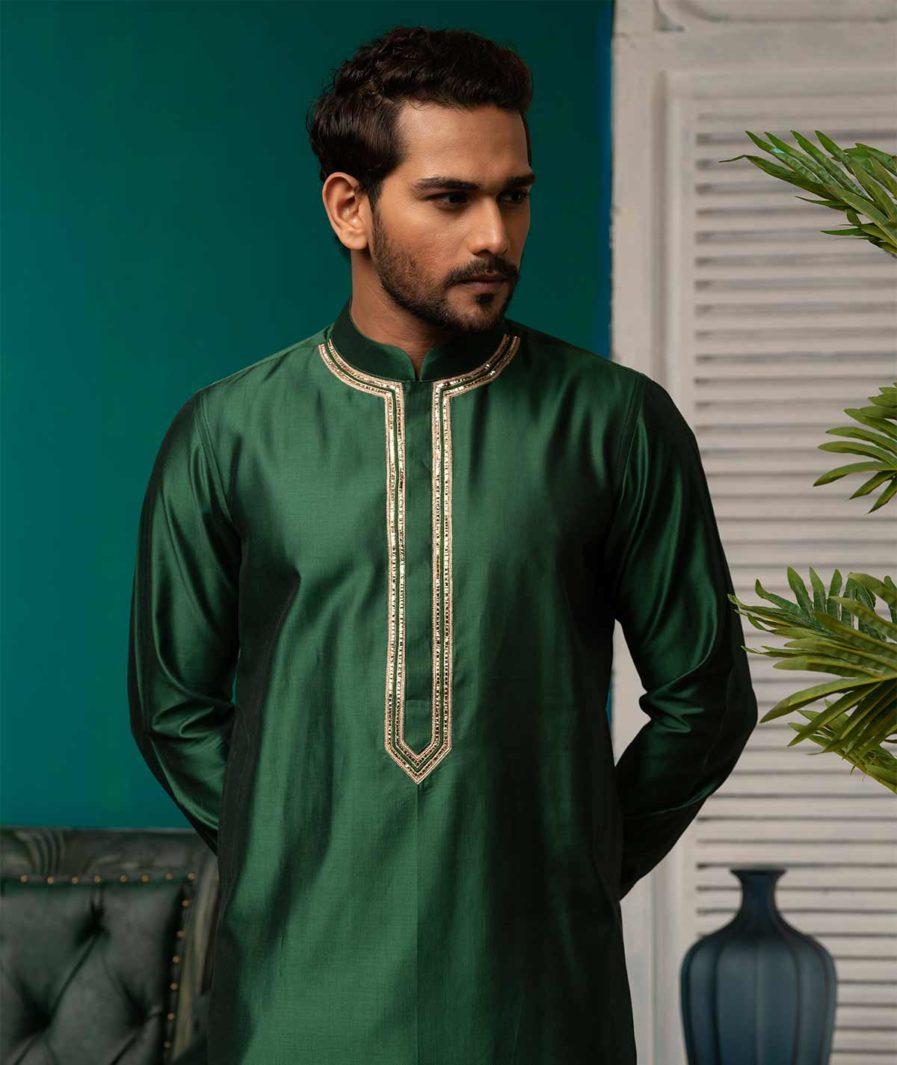 Premium Green Panjabi